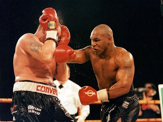 Mike Tyson強大的威力