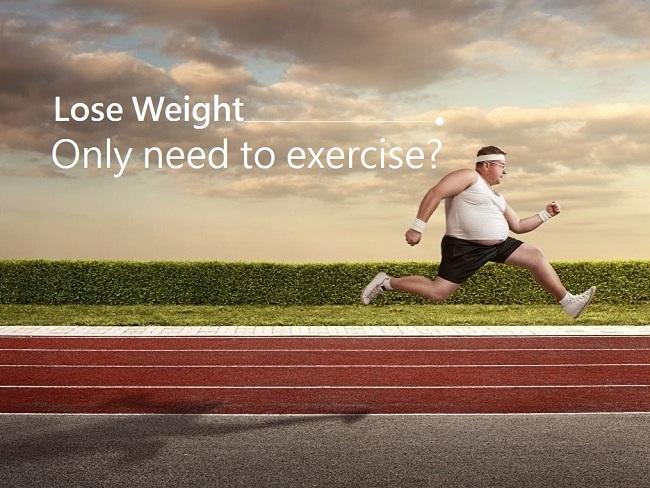 單靠運動就能瘦身