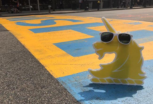 波士頓馬拉松獨角獸