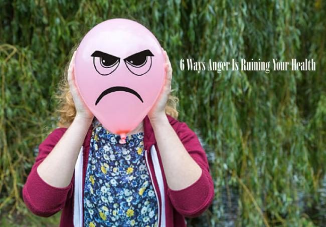 生氣對身體的傷害