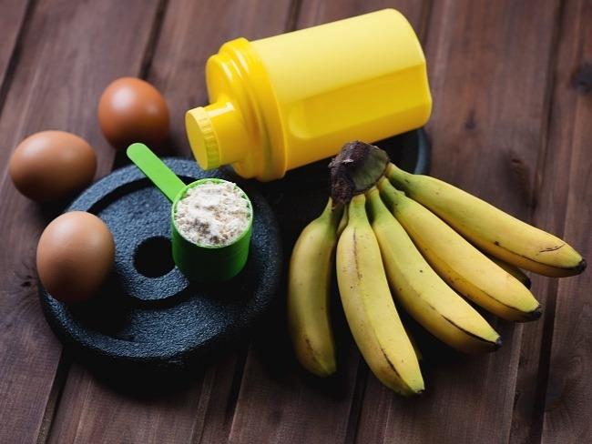 香蕉搭配蛋白質