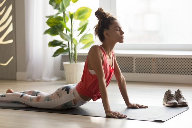 瑜伽幫助減輕背痛