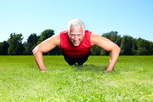 老年人應專注於增加肌肉量