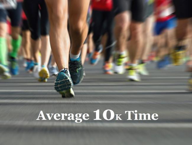 跑10K平均成績