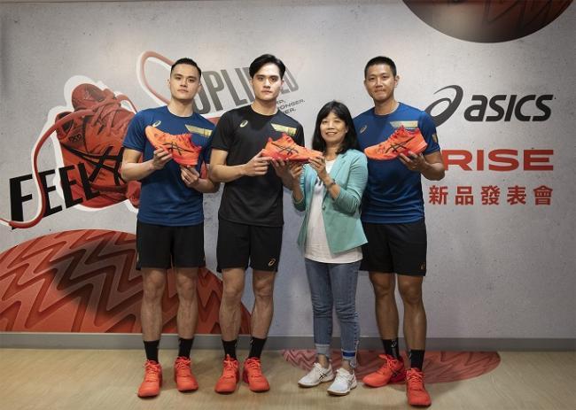Team ASICS陳建禎、劉鴻敏、劉鴻杰