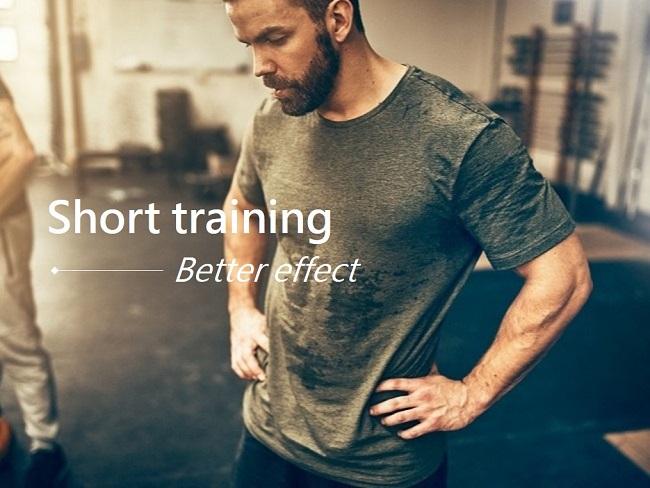 短時間訓練成效更好