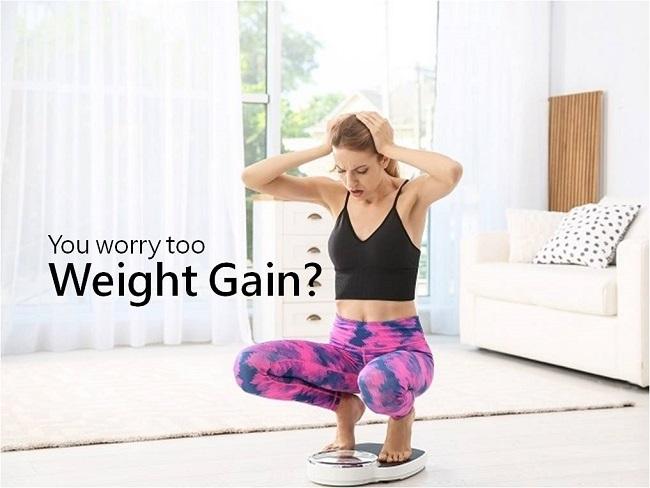 你也擔心體重上升