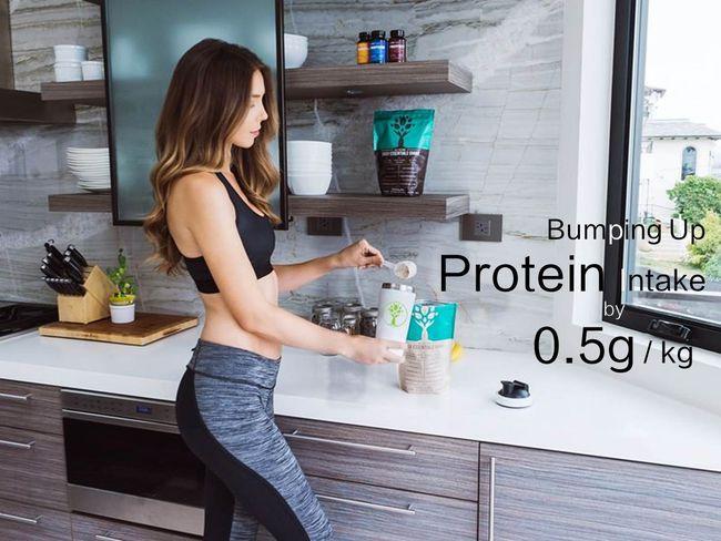 多吃0.5克蛋白質防止肌肉流失