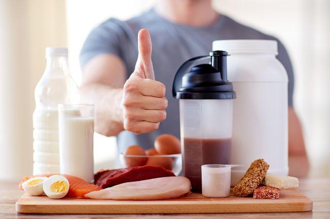 高蛋白食物