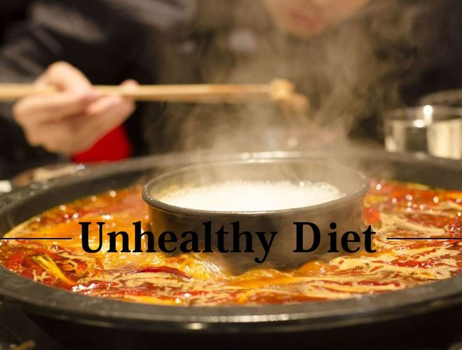 不健康飲食
