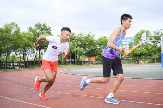 陳彥博接力跑步夢想