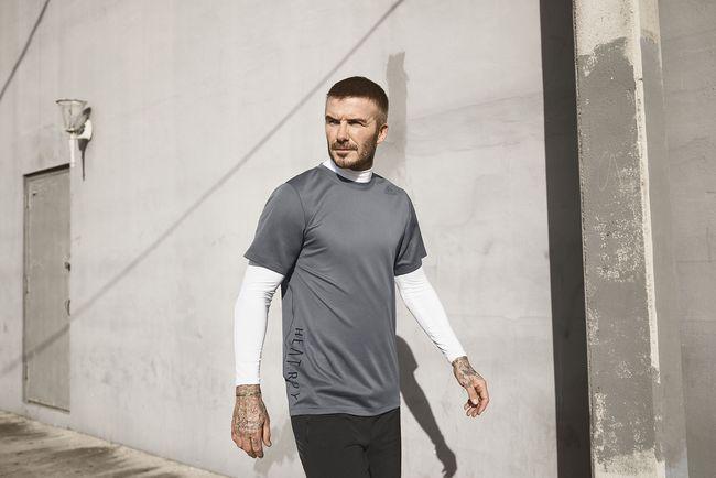 貝克漢穿上adidas HEAT.RDY 凍涼系列運動服飾