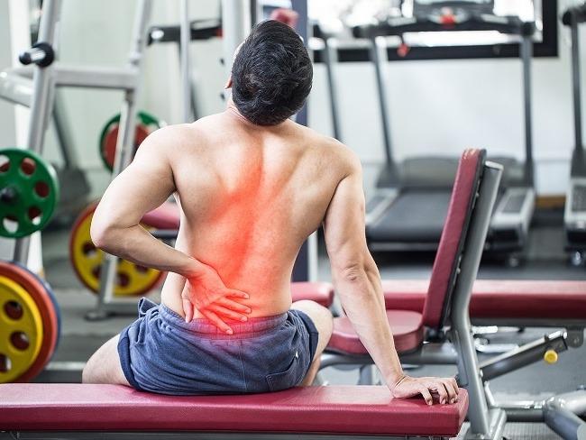 下背部疼痛緩解訓練