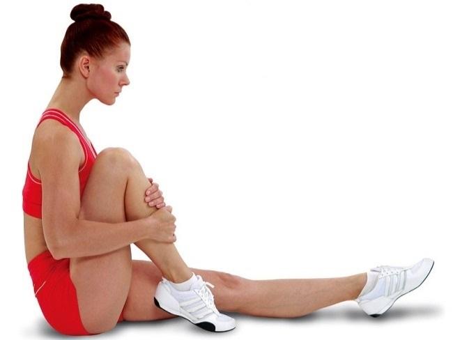 坐姿臀部伸展