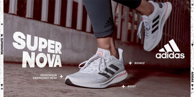 adidas全新SUPERNOVA跑鞋