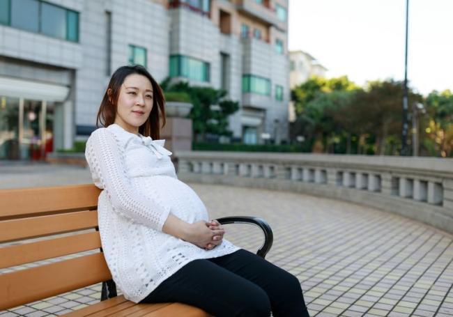 Donna 懷孕35週時