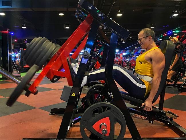 進入重量訓練的領域