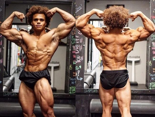 羨慕這樣的肌肉量