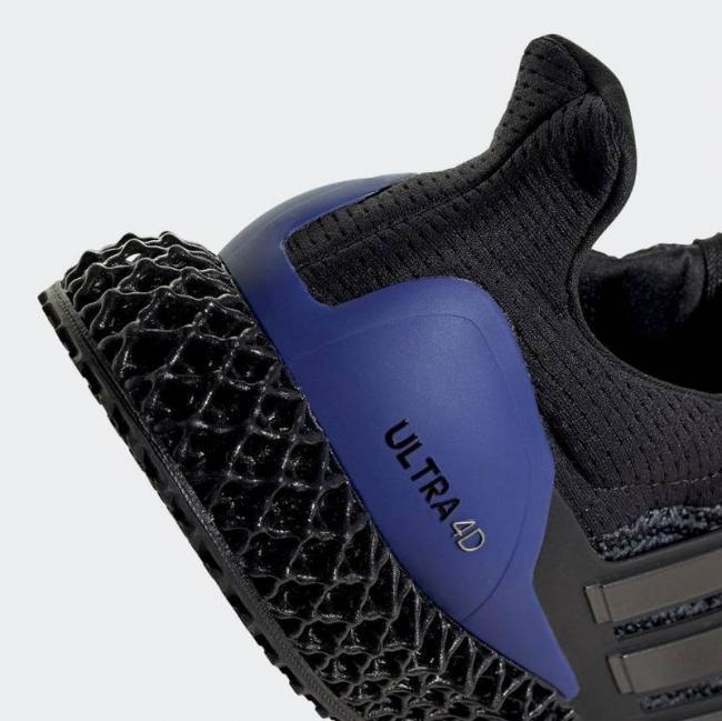 adidas ULTRA4D 鞋後跟TPU 穩定片