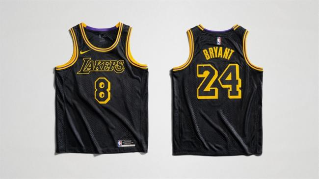 Los Angeles Lakers City Edition Jersey Black Mamba
