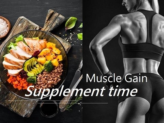 增肌效率與補充蛋白質