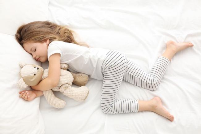 睡眠較少的兒童