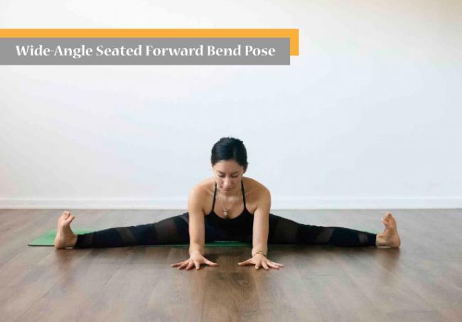 瑜伽坐角式 Wide-Angle Seated Forward Bend Pose