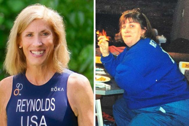 Sue Reynolds減肥前後對比