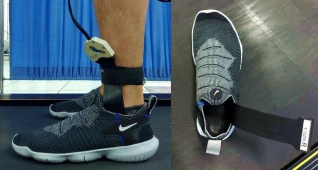 使用 Pedar 鞋內壓力測量系統分析跑鞋