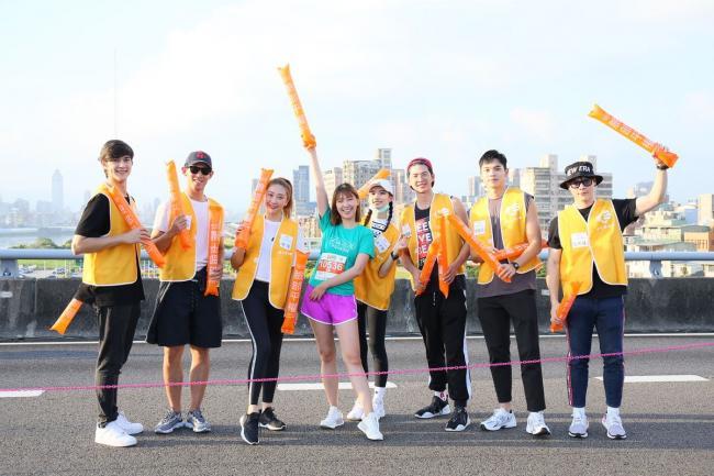 伊林娛樂參與陪跑並組成加油團
