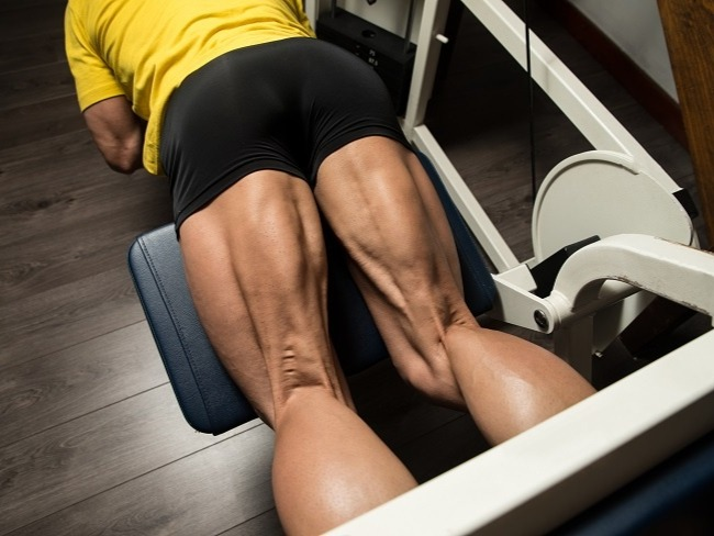 大腿後側的股二頭肌訓練