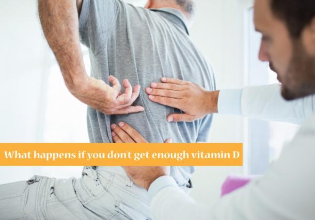 下背痛 腰痛 維生素D
