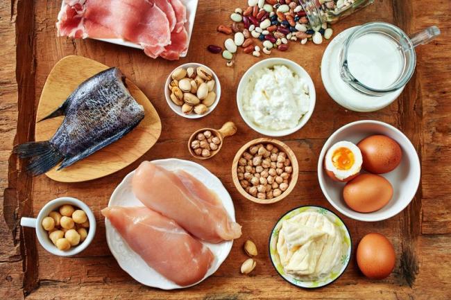 蛋豆魚肉類與堅果