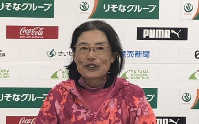 弓削田真理子創W60馬拉松世界紀錄