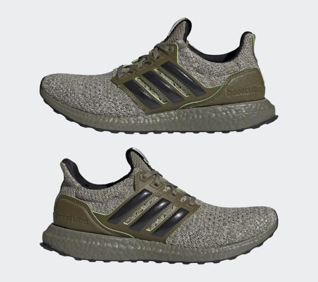 adidas Ultraboost DNA Star Wars 系列尤達大師鞋款