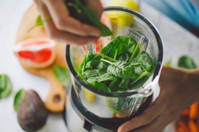 適量的蔬菜與水果攝取