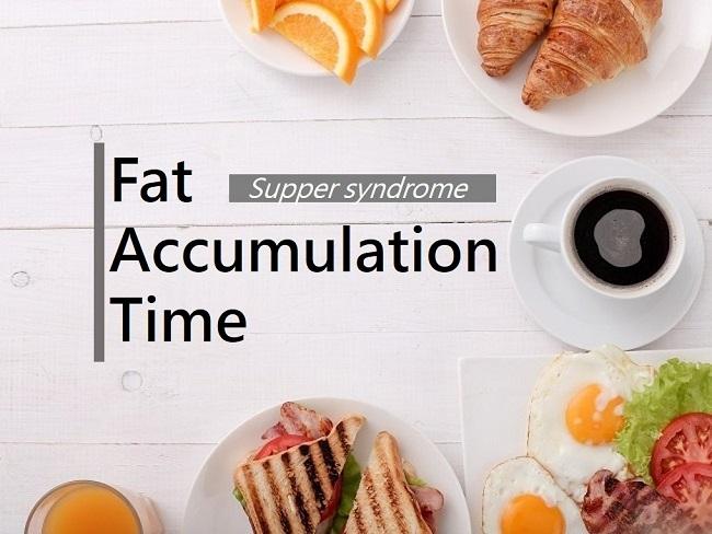 造成脂肪堆積的時間