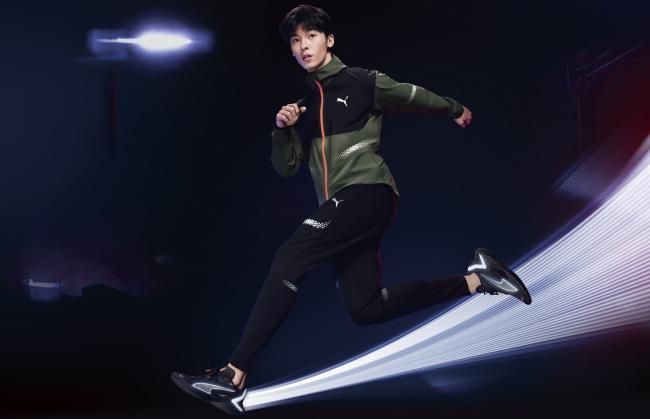 許光漢 PUMA UltraRide Runner ID