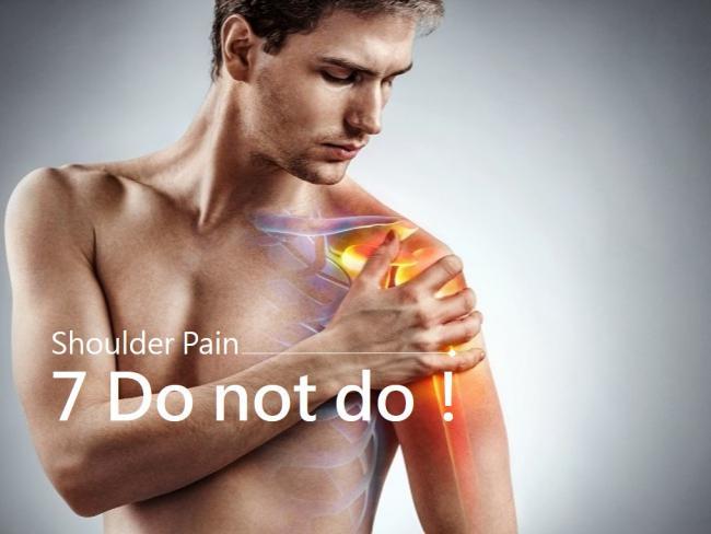 造成肩膀疼痛的原因