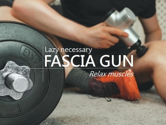 肌肉按摩槍正確的用法