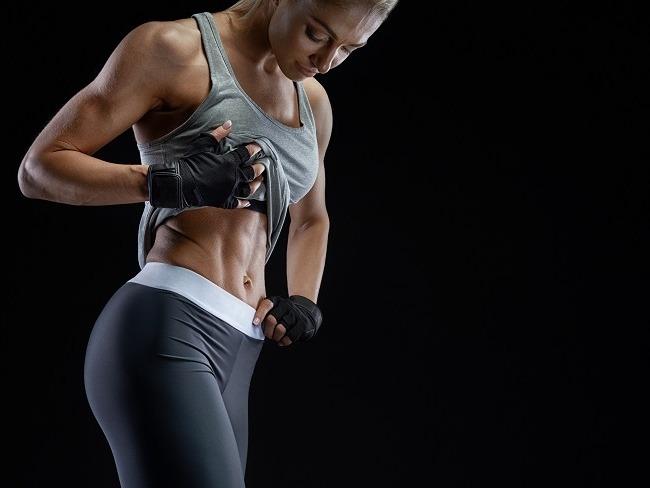 腹肌的呈現必需要低體脂