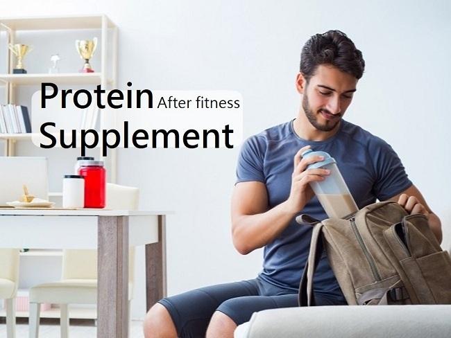 重量訓練後補充蛋白質