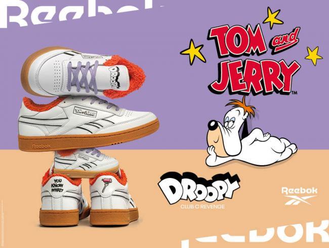 經典卡通湯姆貓與傑利鼠聯名獨家鞋款