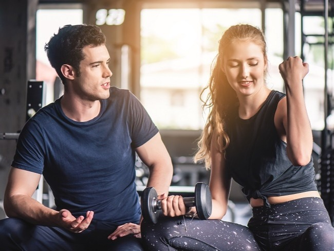 透過運動能減輕體重