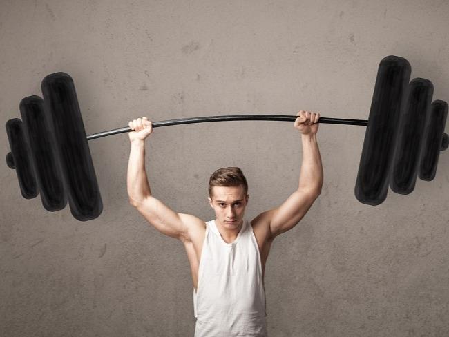過度的訓練重量