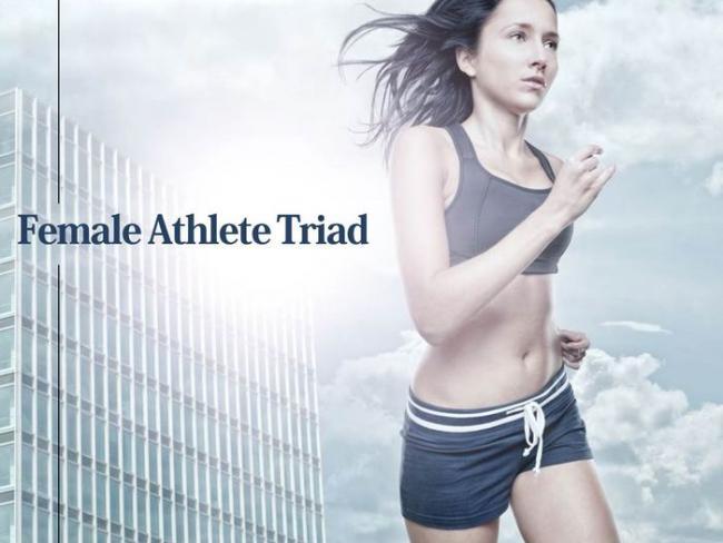 女性運動員常見的運動關聯性三症候群