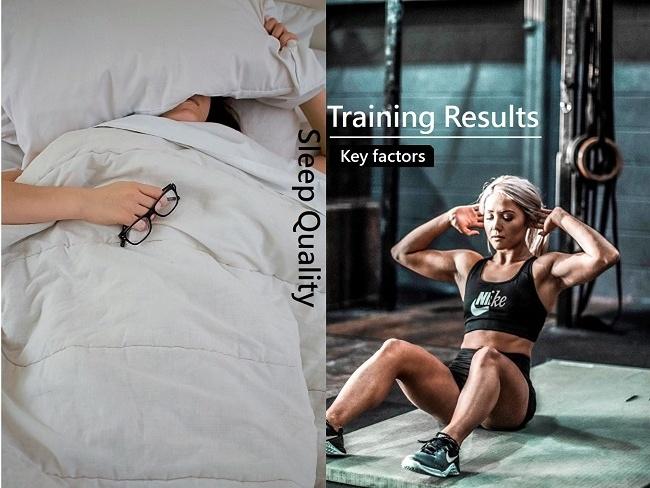 健身與睡眠的關鍵
