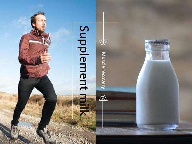 牛奶幫助肌肉恢復