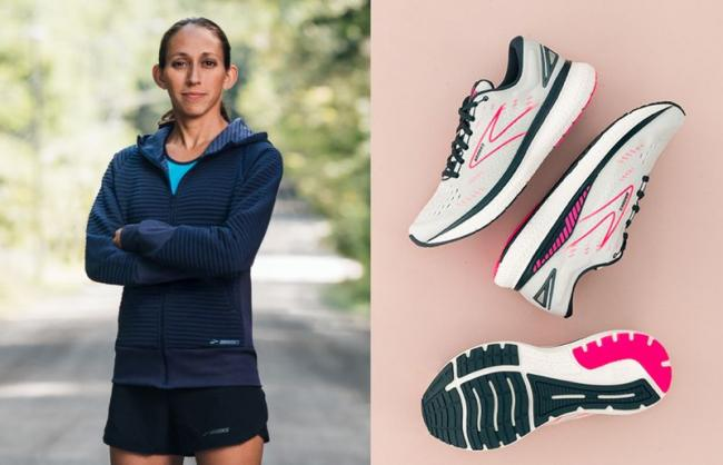 GLYCERIN甘油系列為2018年波馬女子冠軍Desiree Linden最愛的長距離訓練跑鞋