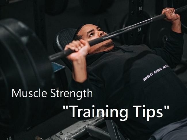 肌力訓練的關鍵技巧